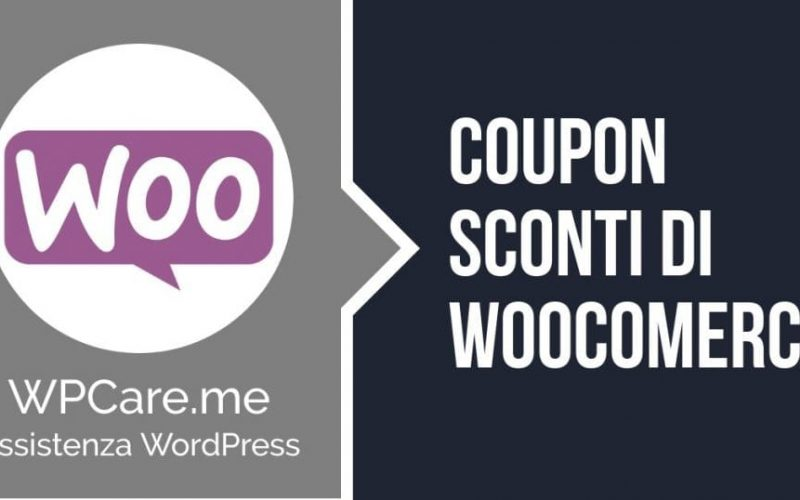 coupon sconto woocomerce-wordpress