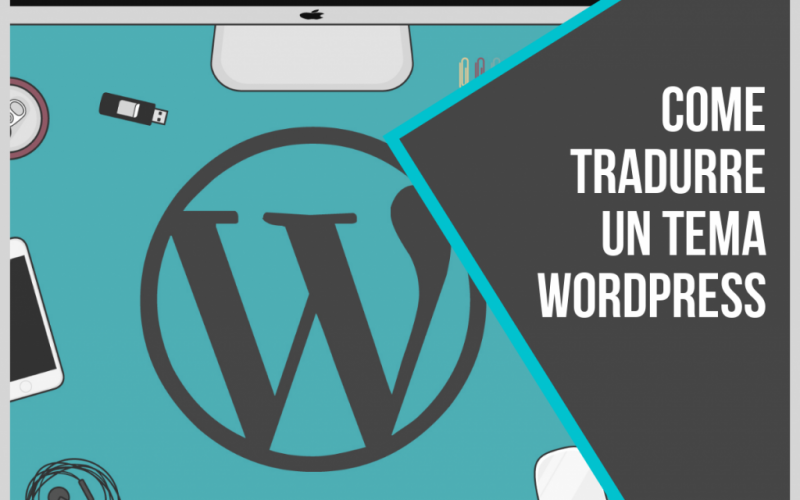 tradurre un tema wordpress